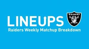 Oakland Raiders Week 13 Matchup Breakdown