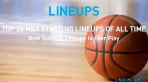 Top 25 NBA Starting Lineups of All-Time