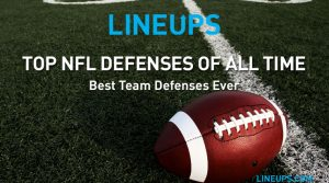 Top 25 NFL Defenses of All Time