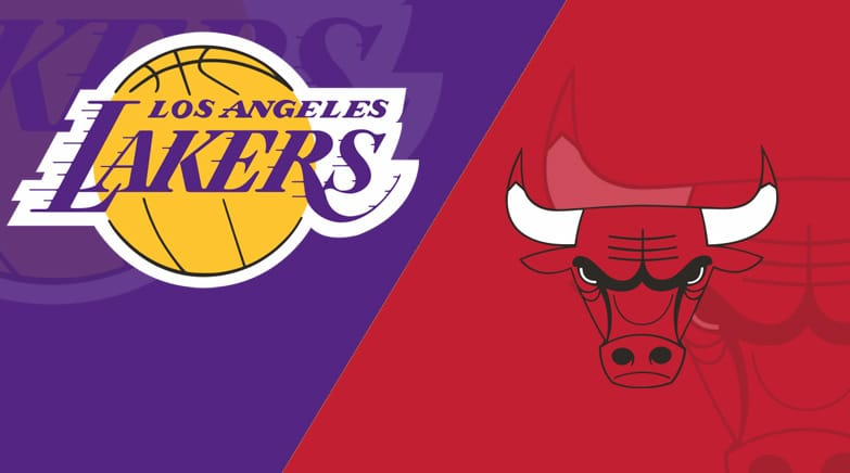 Los Angeles Lakers snap five-game losing streak against Chicago Bulls