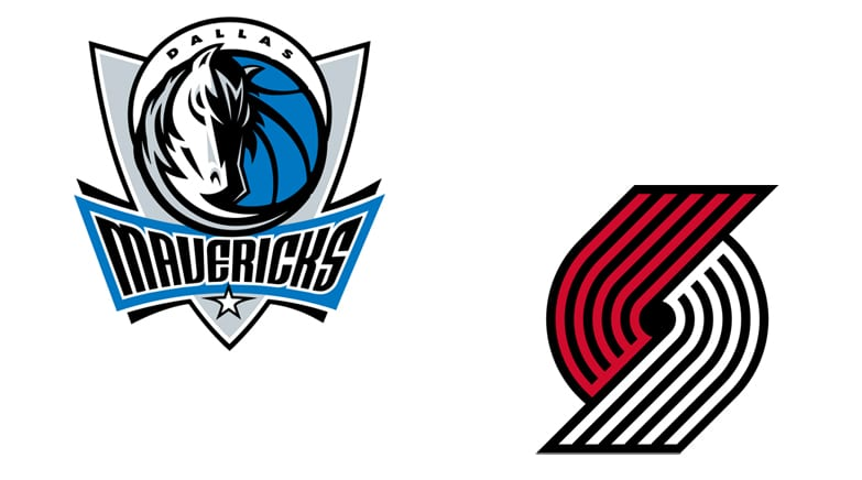 Dallas Mavericks vs  Portland Trailblazers 12/4/18: Starting