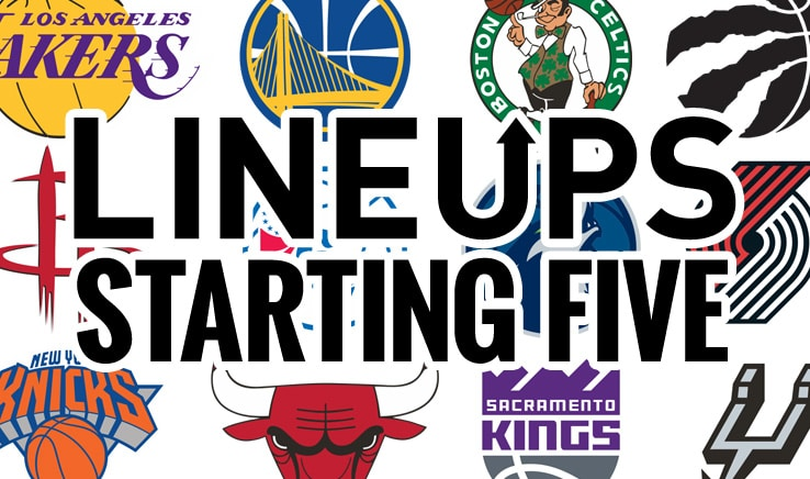 nba starting five lineups