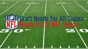 2019 NFL Pre-Draft Positional Team Needs