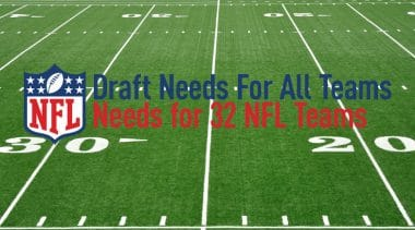 Draft Needs for Every NFL Team
