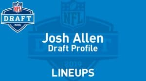 Josh Allen Kentucky 2019 NFL Draft Profile