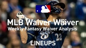 MLB Fantasy Baseball Waiver Wire Pickups: Week 12