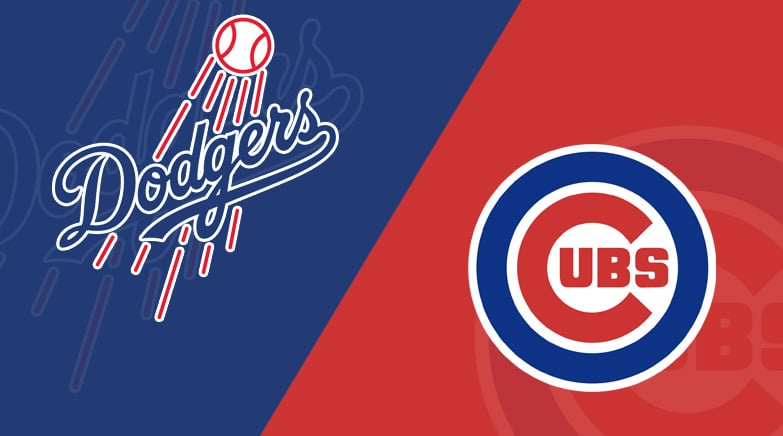 chicago cubs  los angeles dodgers  starting lineups matchup preview betting odds