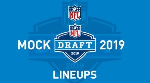 2019 NFL Mock Draft Round 1