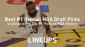Best #1 NBA Draft Picks of All-Time
