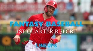 Fantasy Baseball: Quarter 1 Report