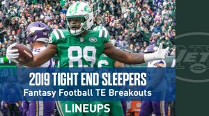 Top Tight End Sleepers: Fantasy Football 2019