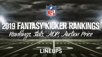 2019 Fantasy Football Kicker Rankings
