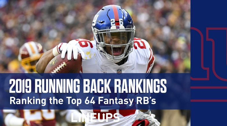 2019 Running Backs Fantasy Football Rankings: Saquon Barkley