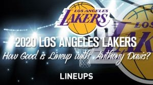 How Good Will The 2020 Lakers Starting Lineup Be w/ Anthony Davis?
