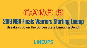 Breaking Down the Golden State Warriors Game 5 Starting Lineup in the NBA Finals