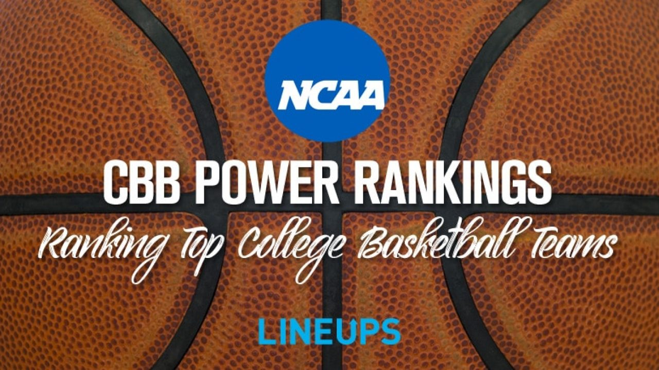 Week 1 College Basketball Power Rankings