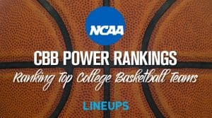 2019-20 College Basketball Power Rankings