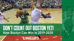 Don't Count Out the Boston Celtics in 2019-20 Just Yet