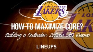 How the Lakers Can Maximize Their LeBron, AD, Kuzma Championship Core