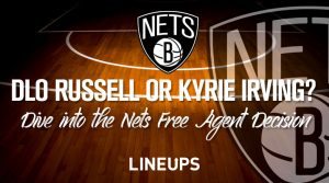 Brooklyn Nets Choice Between D'Angelo Russell and Kyrie Irving