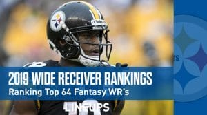 2019 Wide Receiver Fantasy Football Rankings