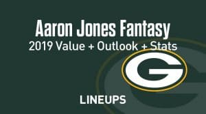 Aaron Jones Fantasy Football Outlook & Value 2019