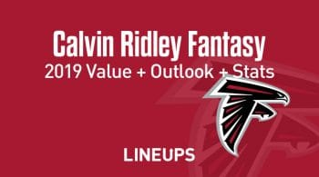 Calvin Ridley Fantasy Football Outlook & Value 2019