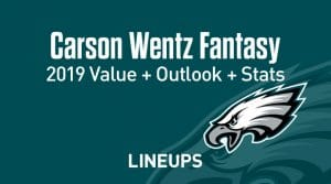 Carson Wentz Fantasy Outlook & Value 2019