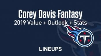 Corey Davis Fantasy Football Outlook & Value 2019
