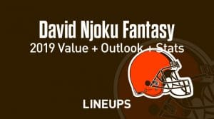 David Njoku Fantasy Football Outlook & Value 2019
