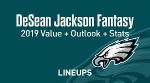 DeSean Jackson Fantasy Football Outlook & Value 2019