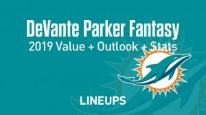 Devante Parker Fantasy Football Outlook & Value 2019