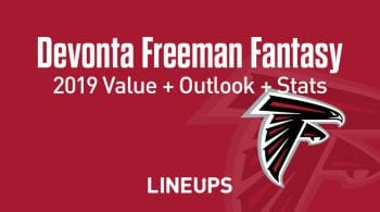 Devonta Freeman Fantasy Football Outlook & Value 2019