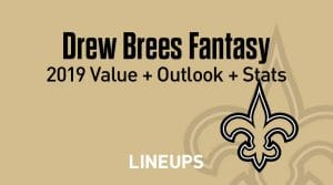 Drew Brees Fantasy Football Outlook & Value 2019