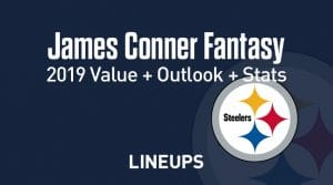 James Conner Fantasy Football Outlook & Value 2019