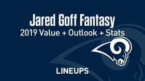 Jared Goff Fantasy Football Outlook & Value 2019