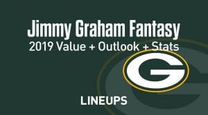Jimmy Graham Fantasy Football Outlook & Value 2019
