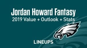 Jordan Howard Fantasy Football Outlook & Value 2019