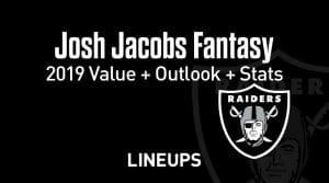 Josh Jacobs Fantasy Football Outlook & Value 2019