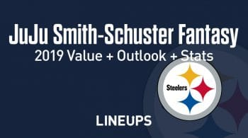 JuJu Smith-Schuster Fantasy Football Outlook & Value 2019