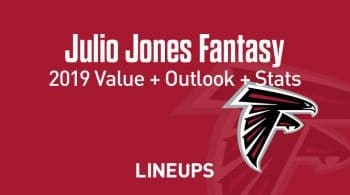 Julio Jones Fantasy Football Outlook & Value 2019