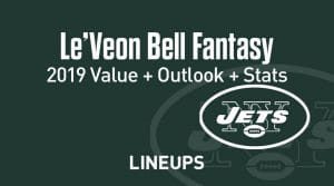 Le'Veon Bell Fantasy Football Outlook & Value 2019