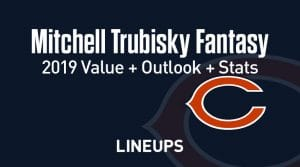 Mitchell Trubisky Fantasy Football Outlook & Value 2019