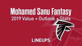 Mohamed Sanu Fantasy Football Outlook & Value 2019