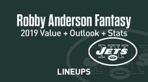 Robby Anderson Fantasy Football Outlook & Value 2019