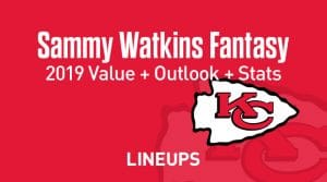 Sammy Watkins Fantasy Football Outlook & Value 2019
