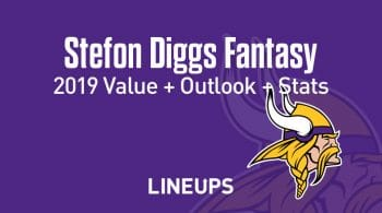 Stefon Diggs Fantasy Football Outlook & Value 2019