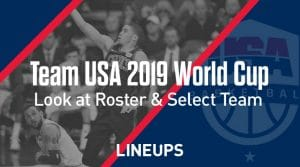 Team USA Roster for 2019 FIBA Basketball World Cup