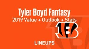 Tyler Boyd Fantasy Football Outlook & Value 2019