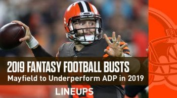 2019 Fantasy Football Busts: Baker Mayfield Overhyped and Overvalued at Current ADP